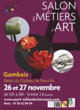 Doamabijoux au Salon des Métiers d'Art à Gambais 26 et 27 novembre 2016