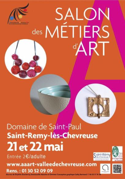 Exposition AAART Métiers d'art, Domaine Saint Paul