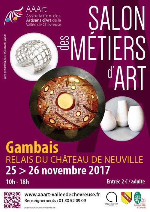 Salon Métiers d'Art AAART Doamabijoux, Gambais, Yvelines