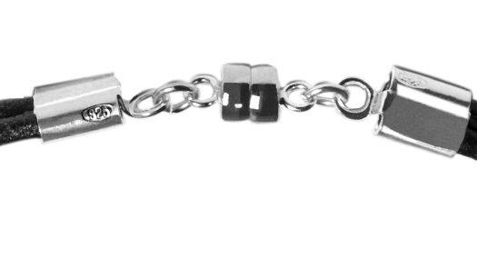 Bracelet Argent fermeture aimantée, soudée au laser