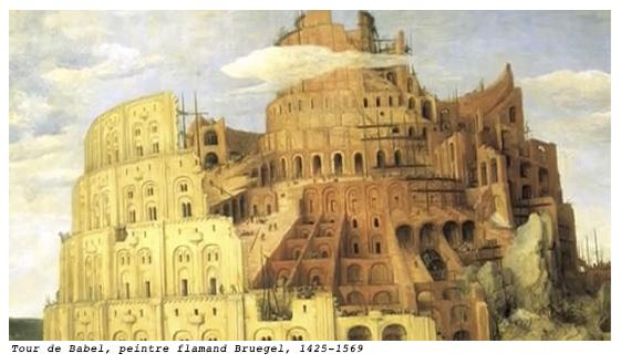 Tour de Babel par Bruguel