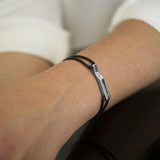 Bracelet SCALA BIG argent, Doamabijoux